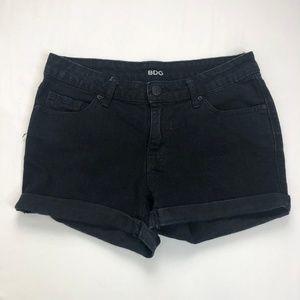 BDG Urban Outfitters Cuffed Denim Jean Shorts 32W